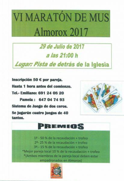 VI Maratón de Mus Almorox 2017