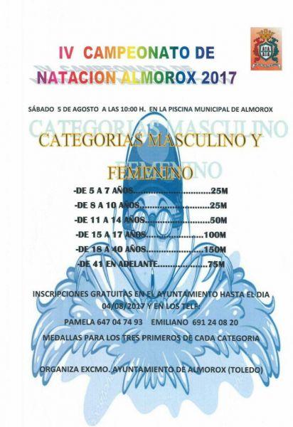 IV Campeonato de Natación Almorox 2017