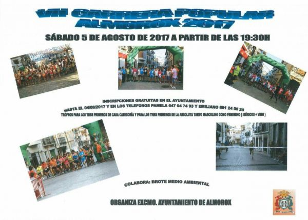 VII carrera popular Almorox 2017