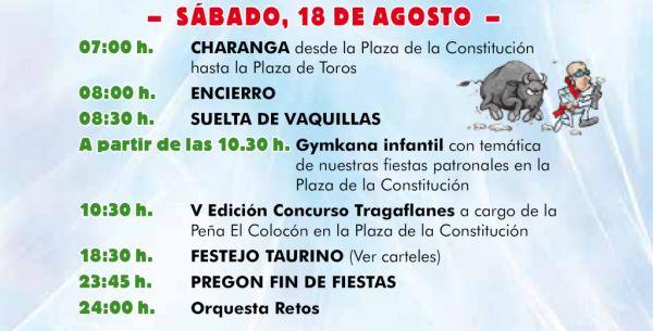 Cuarto día Fiestas Patronales 2018