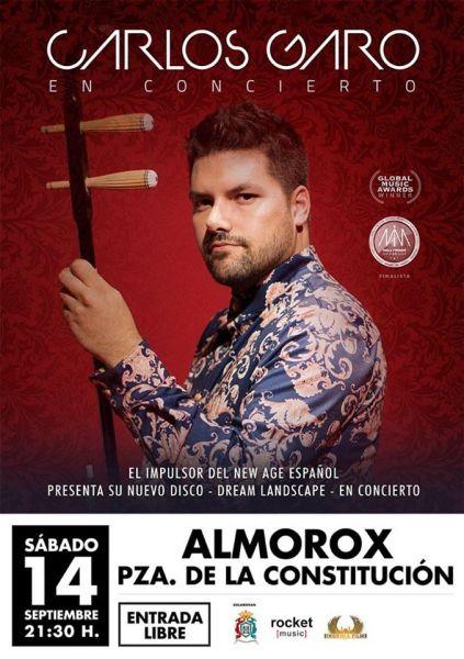 Concierto presentación de disco del músico Carlos Garo