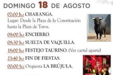 Cuarto día Fiestas Patronales 2019