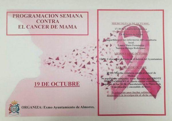 Semana contra el cáncer de mama 2019