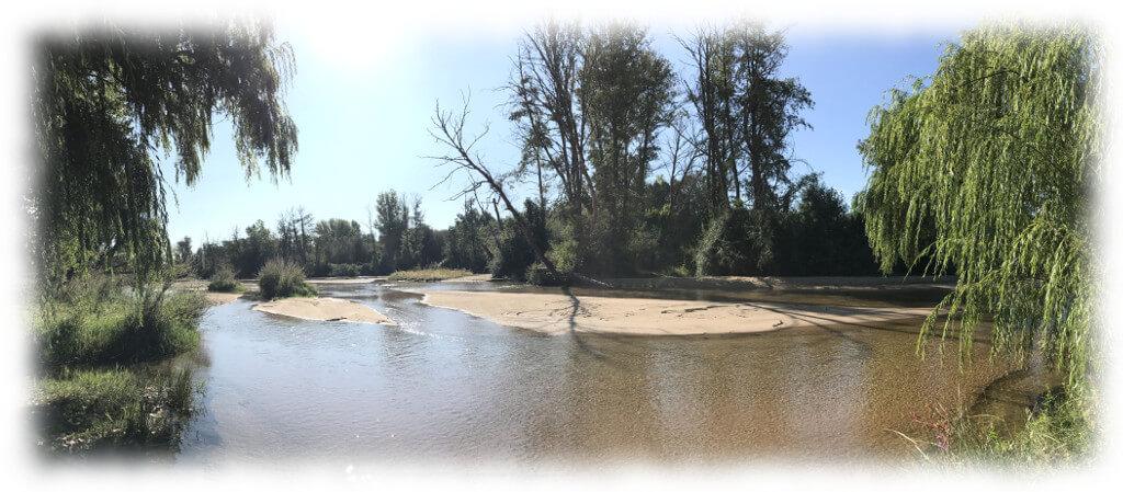 El rio Alberche por Almorox