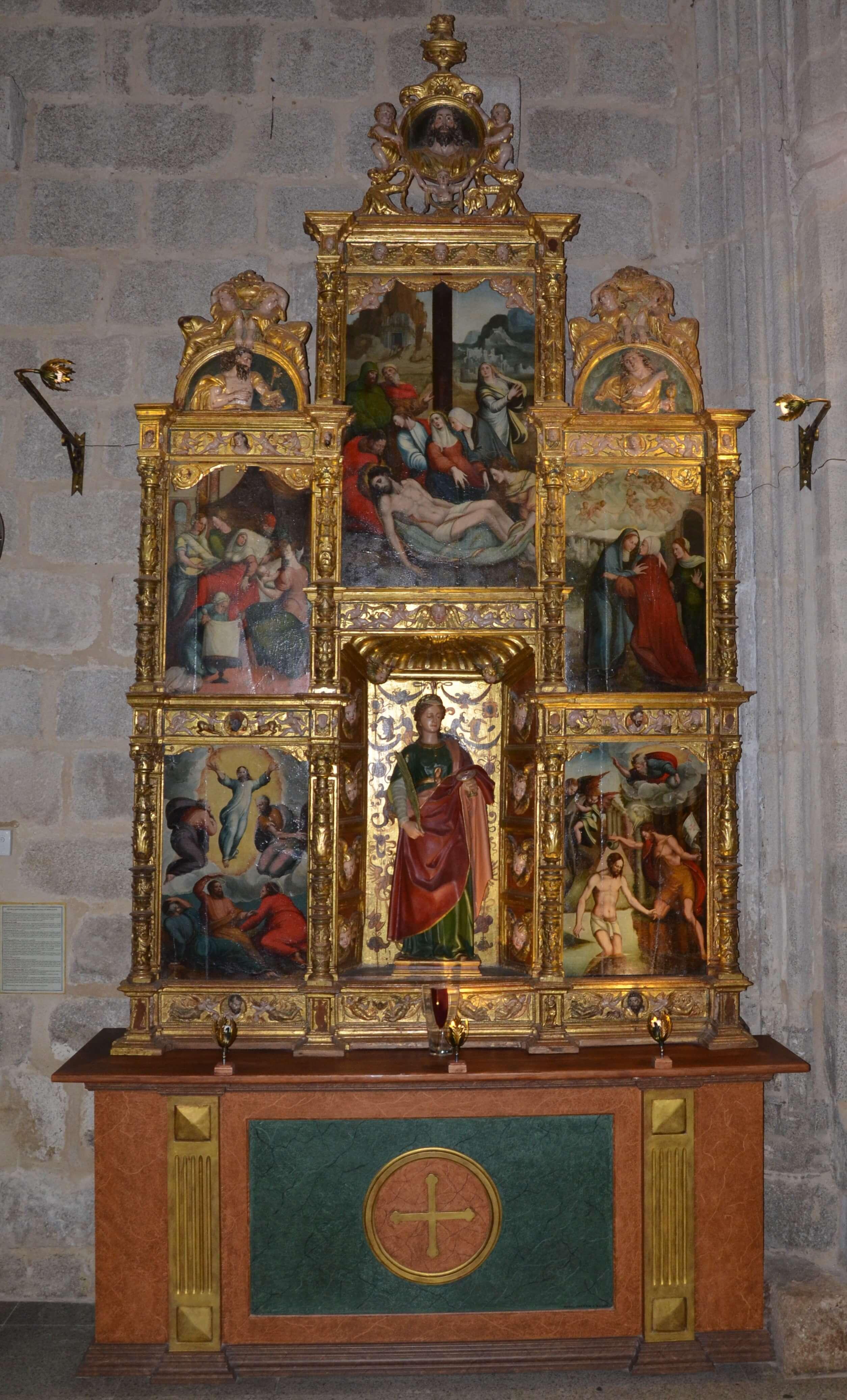 retablo atribuido a Alonso Berruguete