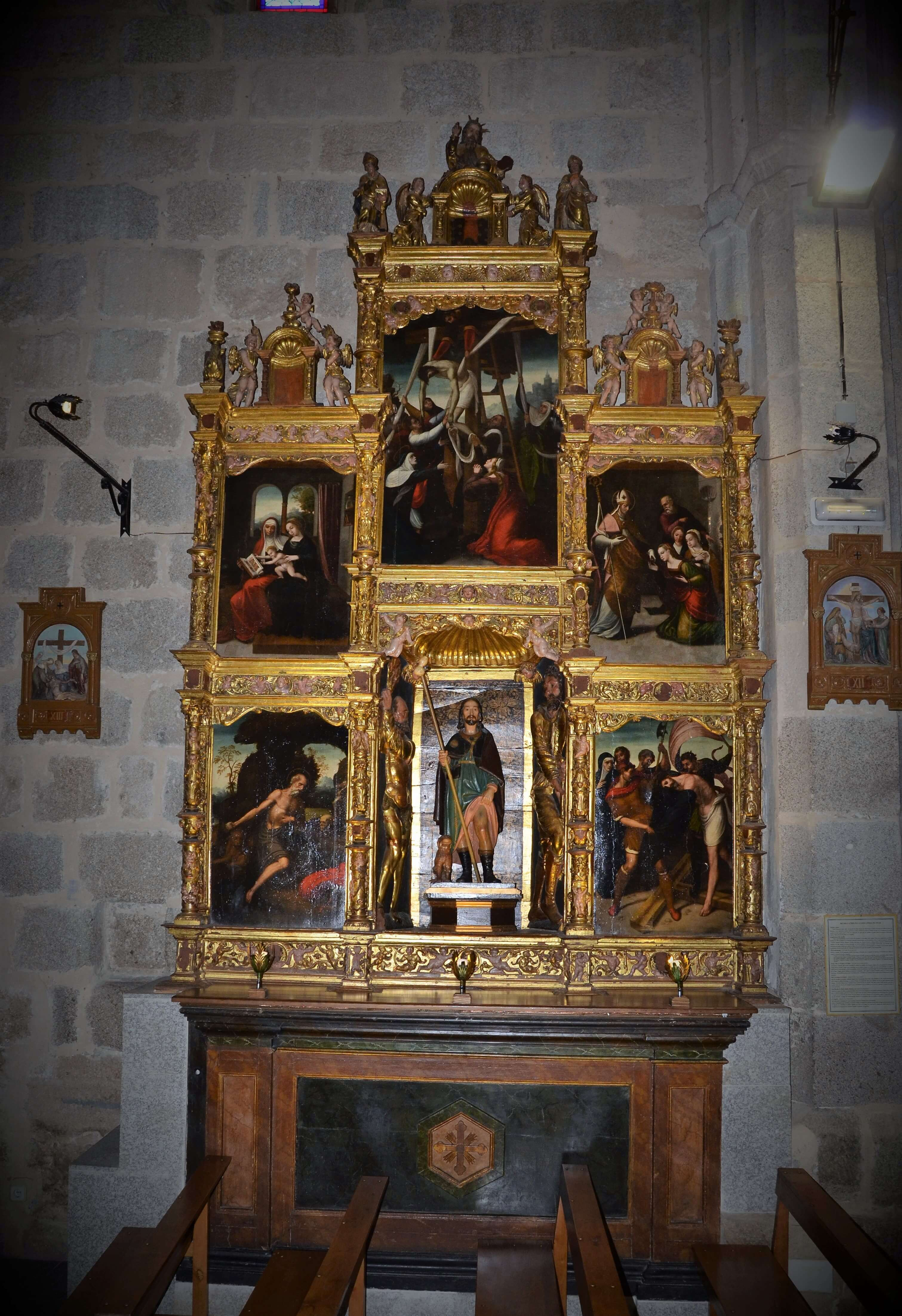 retablo atribuido a Correa de Vivar